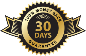 100% money back gaurantee for 30 days.